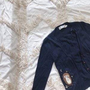 LA CHAPELLE Wool Navy Cardigan 💕💕